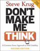 Don't Make Me Think - Cover Image