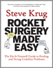 Book cover: Rocket Surgery Made Easy